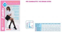 Medicīniskās elastīgās kompresijas pusgarās zeķes mm Hg 19-22