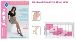 Колготки медицинские эластичные компрессионные, для беременных mm Hg 19-22