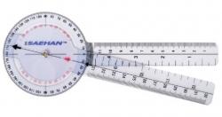 Plastic Goniometer 20 cm | 0° to 360° per 1°