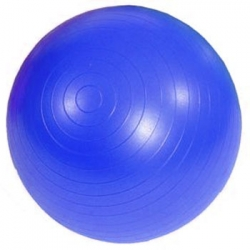 Фитнес-мяч гимнастический Qmed 75 см с системой антиразрыв.
