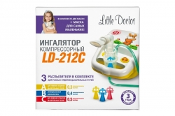 Ингалятор компрессорный (небулайзер) Little Doctor LD-212C