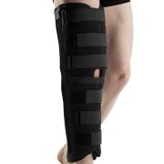 Knee immobilisation splint
