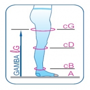 Колготки медицинские эластичные компрессионные mm Hg 15-18