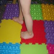Ортопедические коврики-пазлы