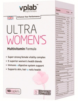 VPLab Ultra Women's Multivitamin Formula 90 капс.